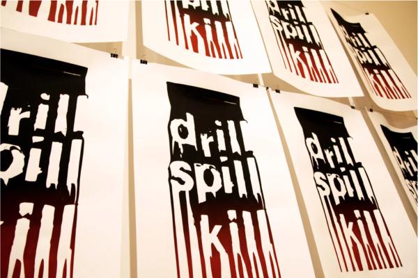drill spill kill poster