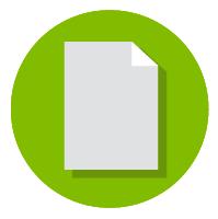 Paper print icon